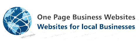 One Page Business Websites